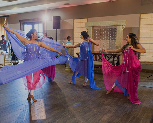 Fusion Dancers weddings Services