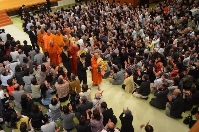 Visit of High Level Buddhist Delegation to Japan ...