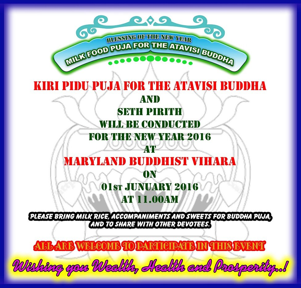 New Year Blessing Ceremony | Srilanka Foundation