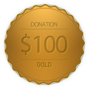 Donation Gold Coin