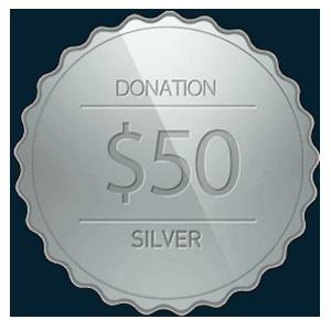 Donation Silver Coin