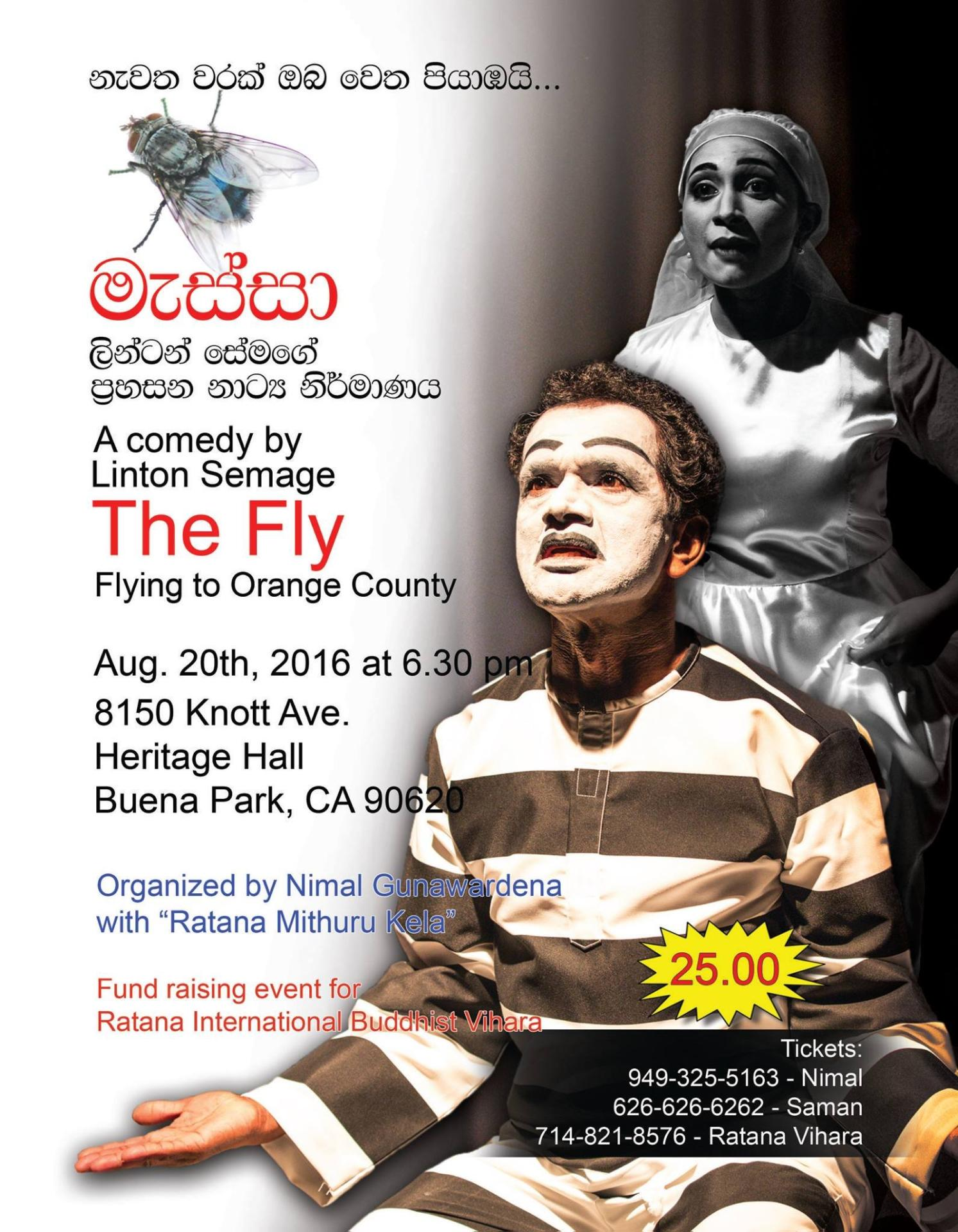 The Fly - A comedy by Linton Semage
