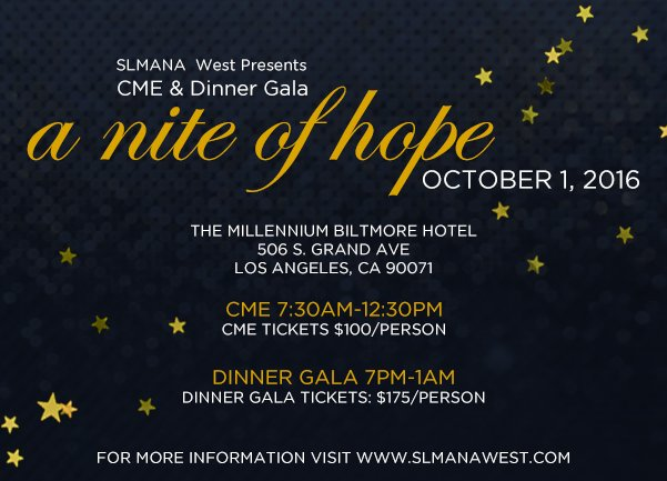 CME & Dinner Gala - A night of hope