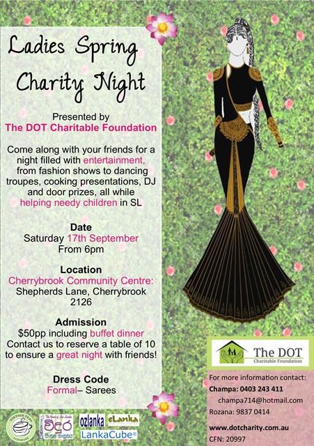 Ladies Spring Charity Night