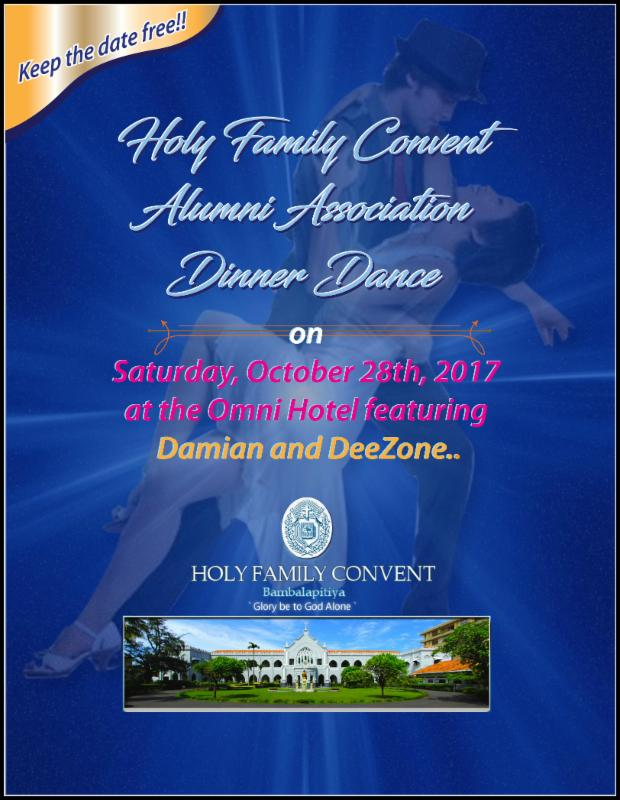Holy Family Convent Dinner Dance