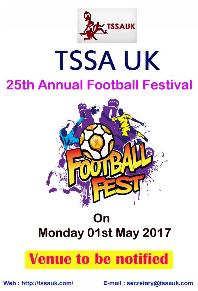 TSSA UK 25th Annual Football Festival