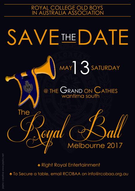 The Royal Ball Melbourne 2017
