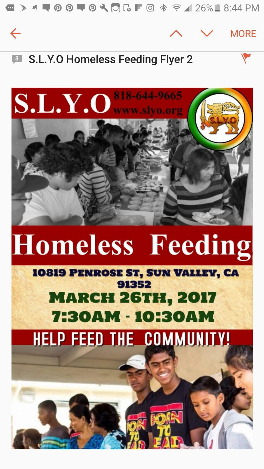 Homeless Feeding