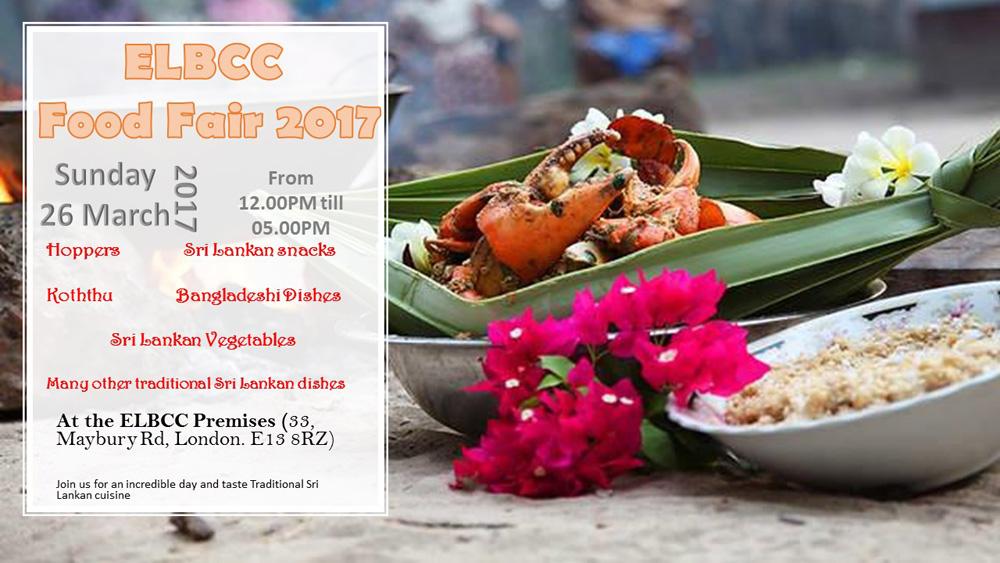Sri Lankan Food Festival