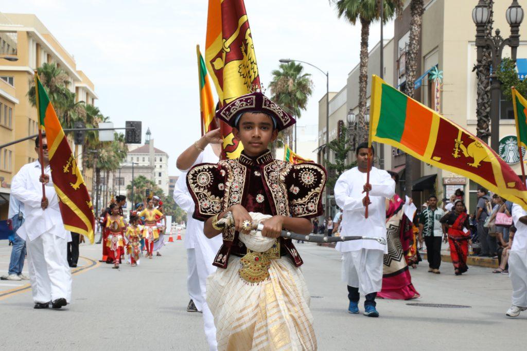 The Parade of Lanka Sri Lanka Day 2017.