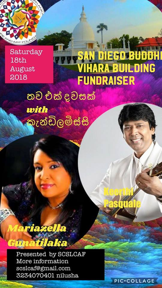 San Diego Buddhist Vihara Building Fundraiser