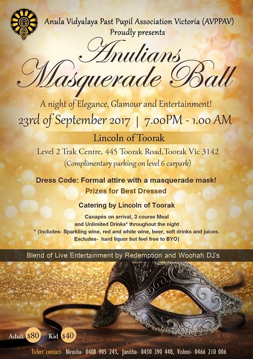 Anulians Masquerate Ball