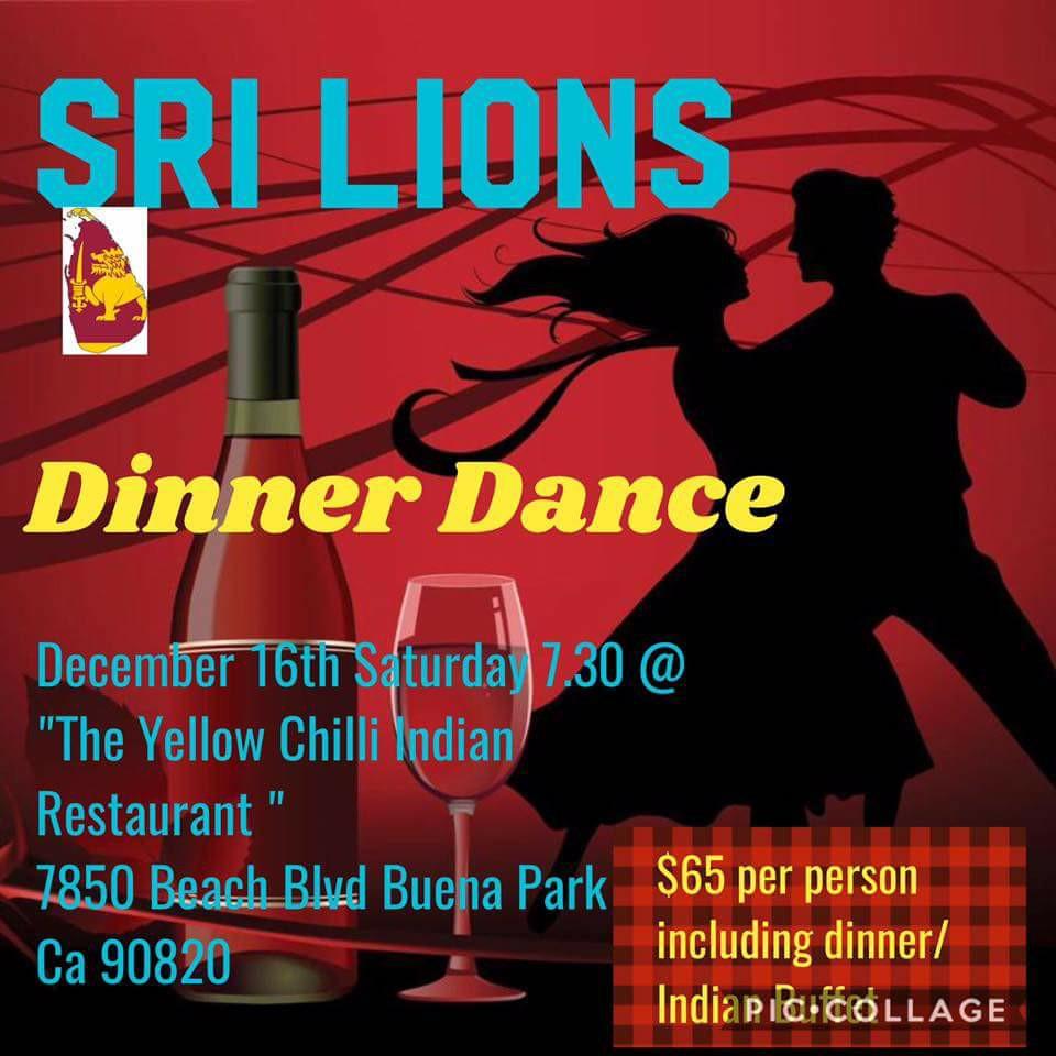 SRI LIONS DINNER DANCE