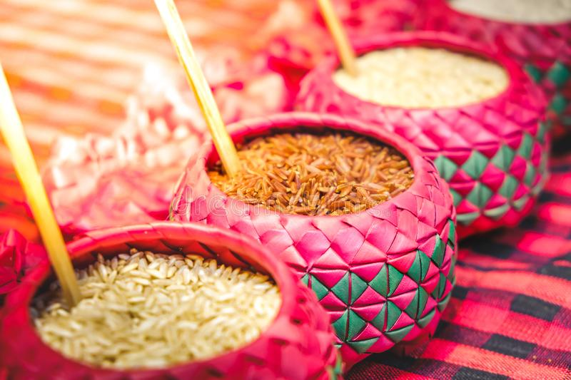 red-rice-purple-bowl-background-whole-grain-various-types-o-99970147