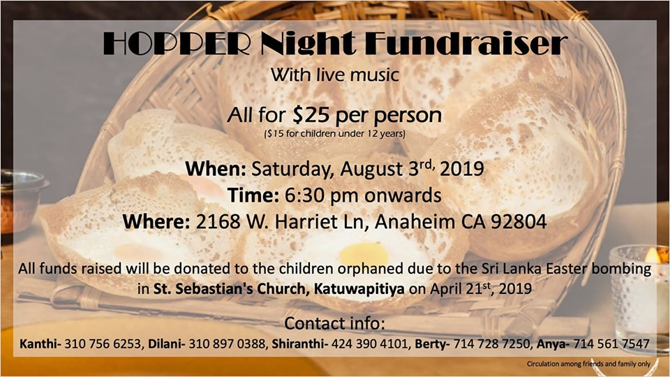 Hopper Night Fundraiser With Live Music