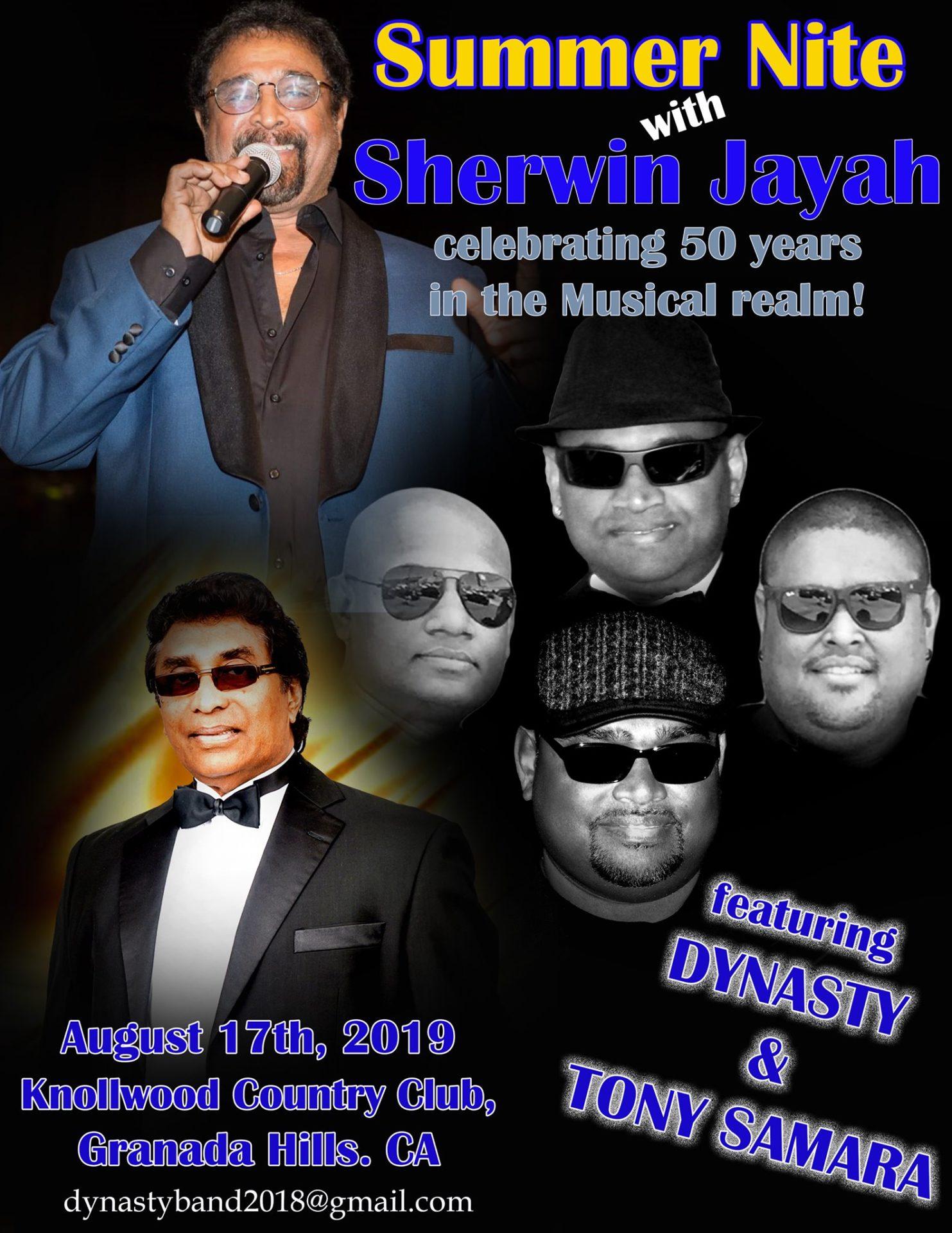 Summer Night With Sherwin Jayah