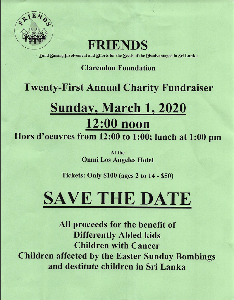 Friends - Charity Fundraiser