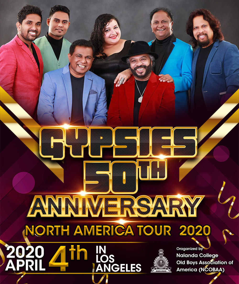 GYPSIES 50th ANNIVERSARY NORTH AMERICA TOUR - 2020