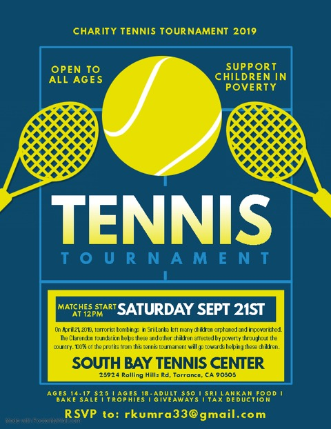 Charity Tennis Tournament