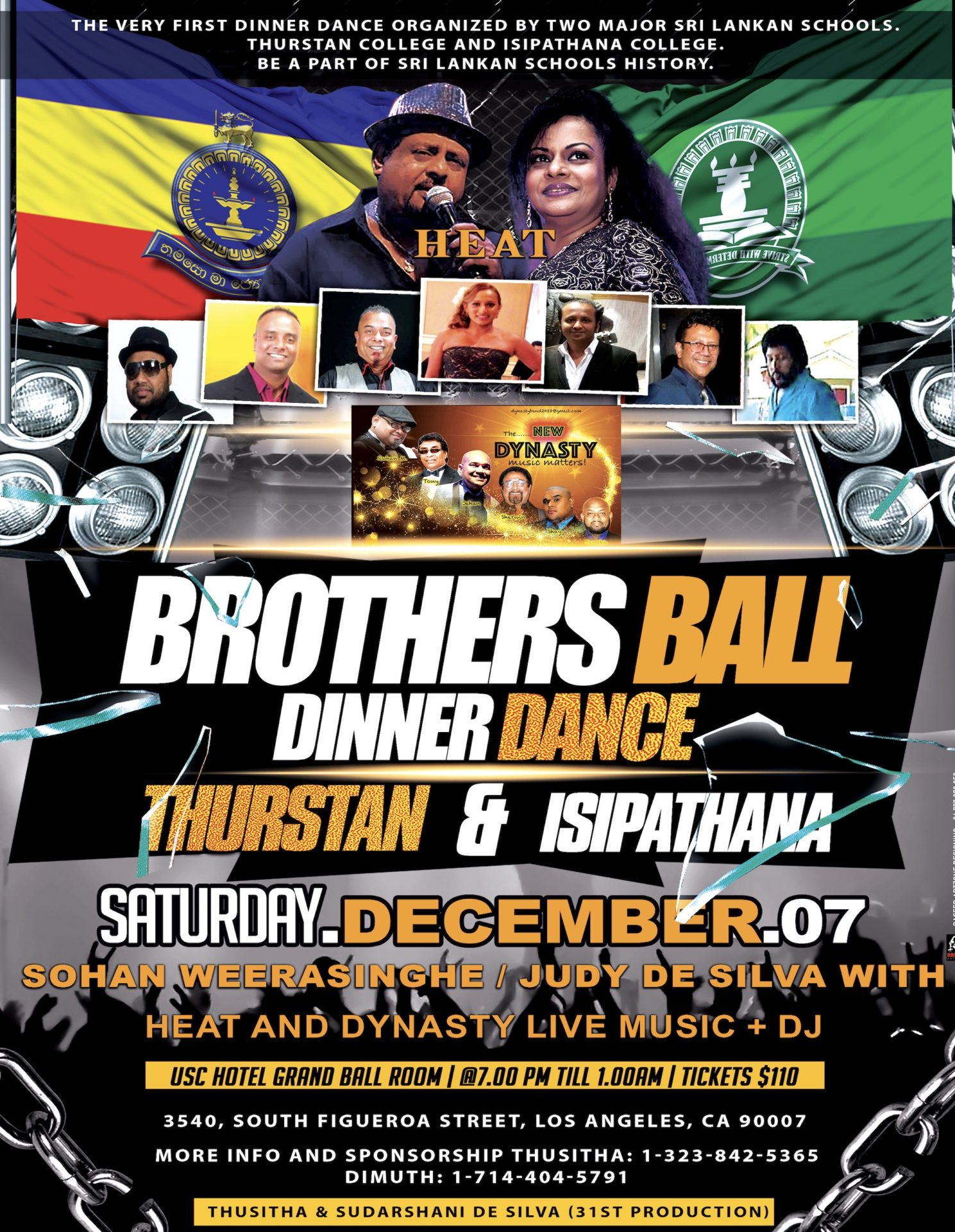 Brothers Ball - Thurstan & Isipathana Dinner Dance