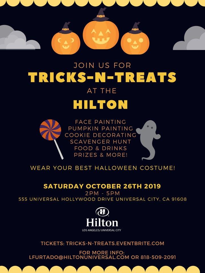 Tricks N Treat at Hilton