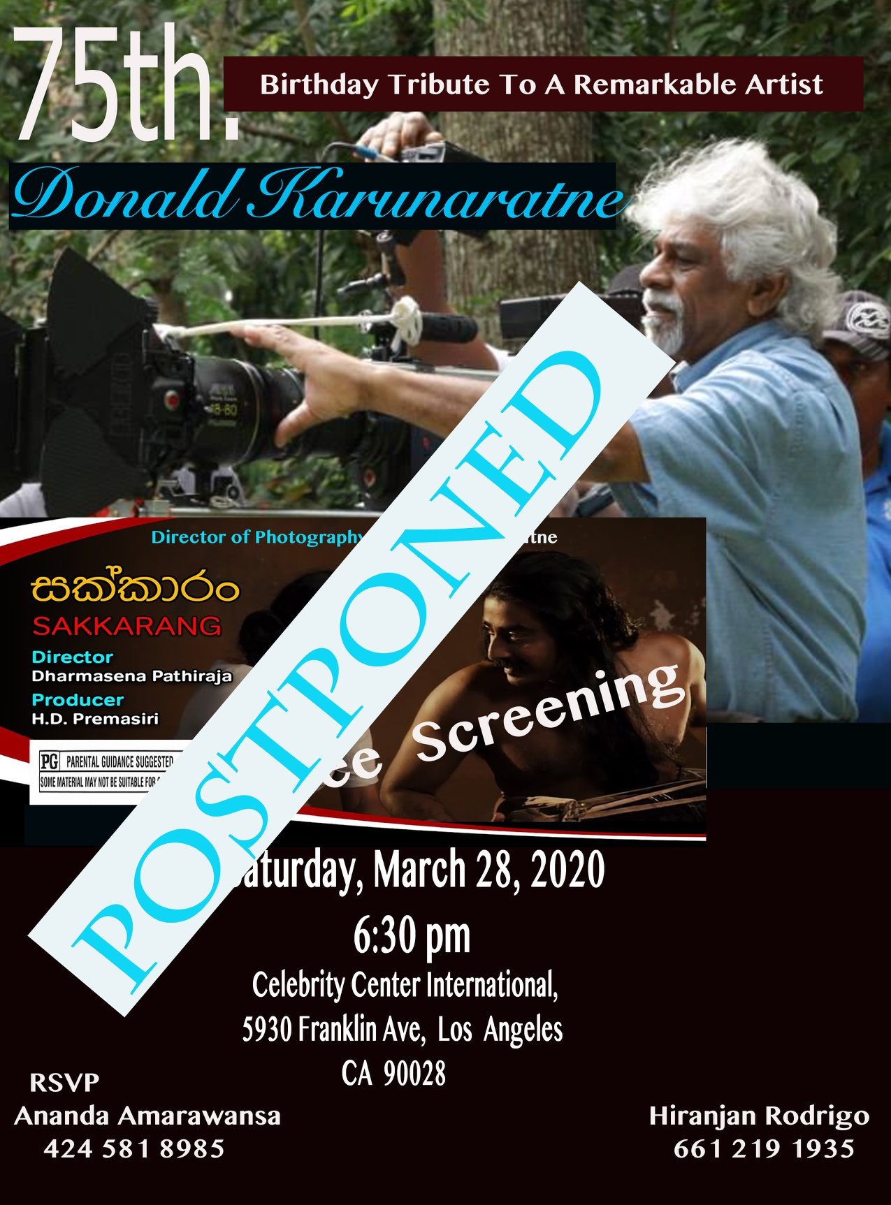 75th Birthday Tribute To A Remarkable Artist - Donald Karunaratne