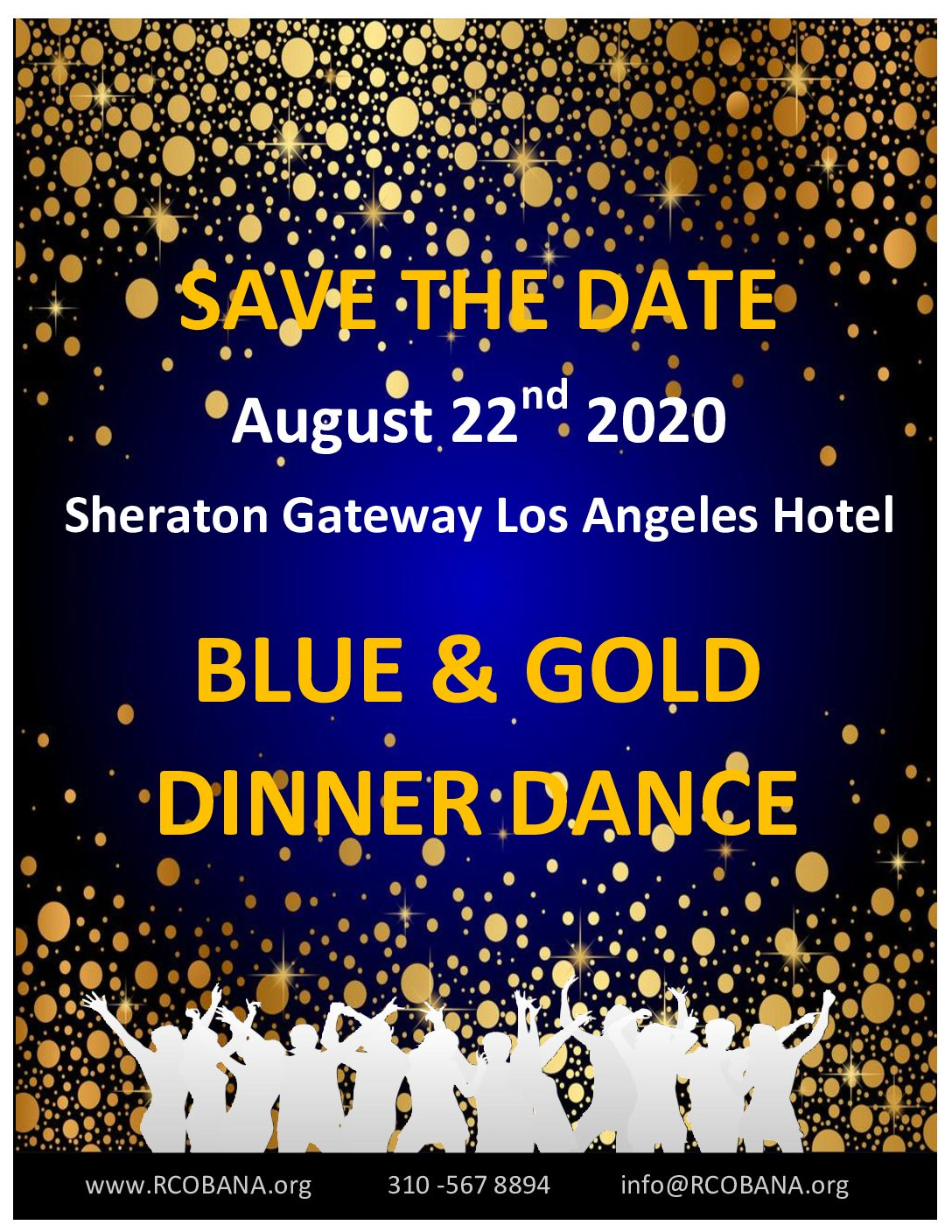 BLUE & GOLD DINNER DANCE
