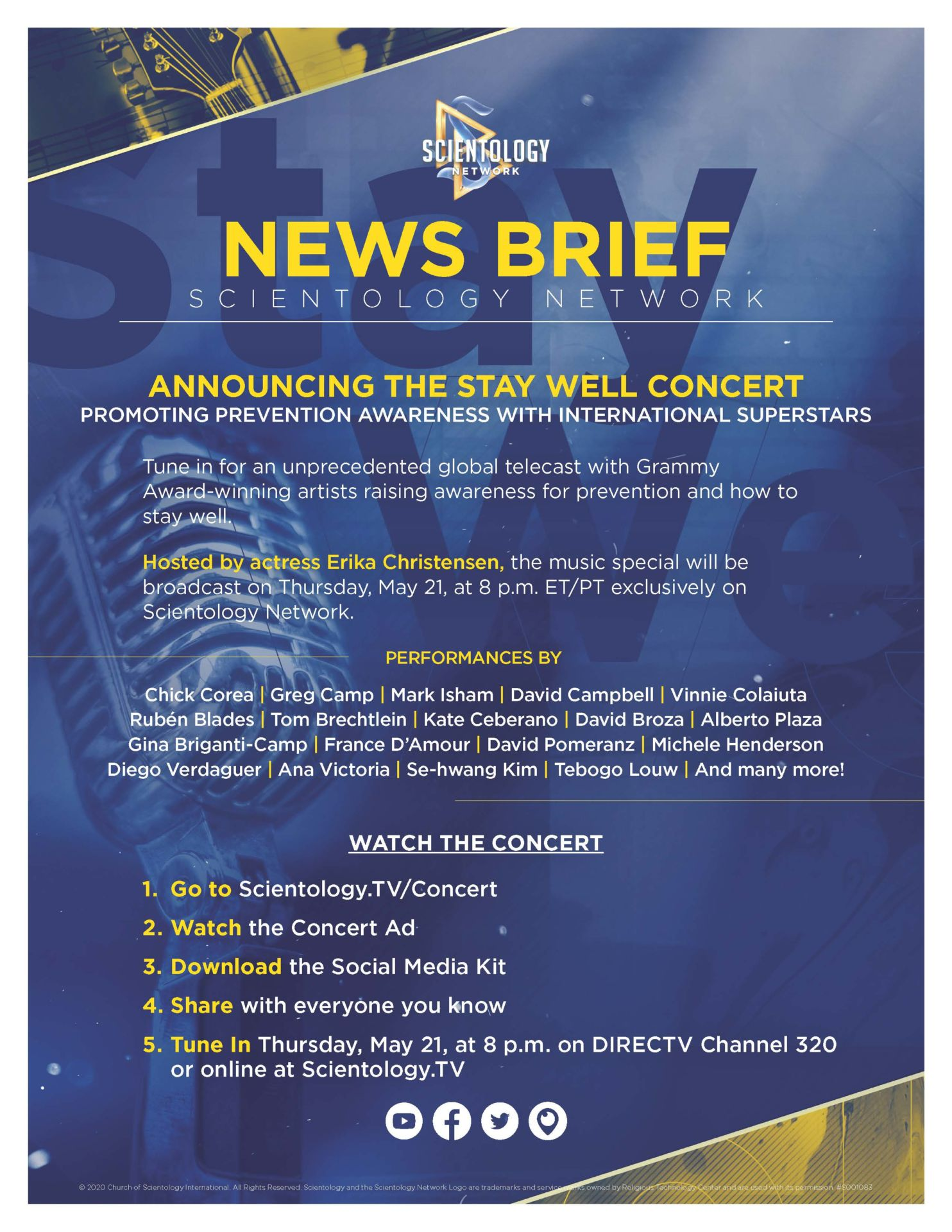 INTERNATIONAL STAY WELL CONCERT