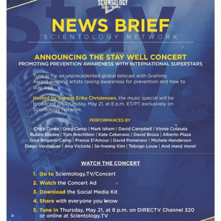 News Brief – Stay Well Concert