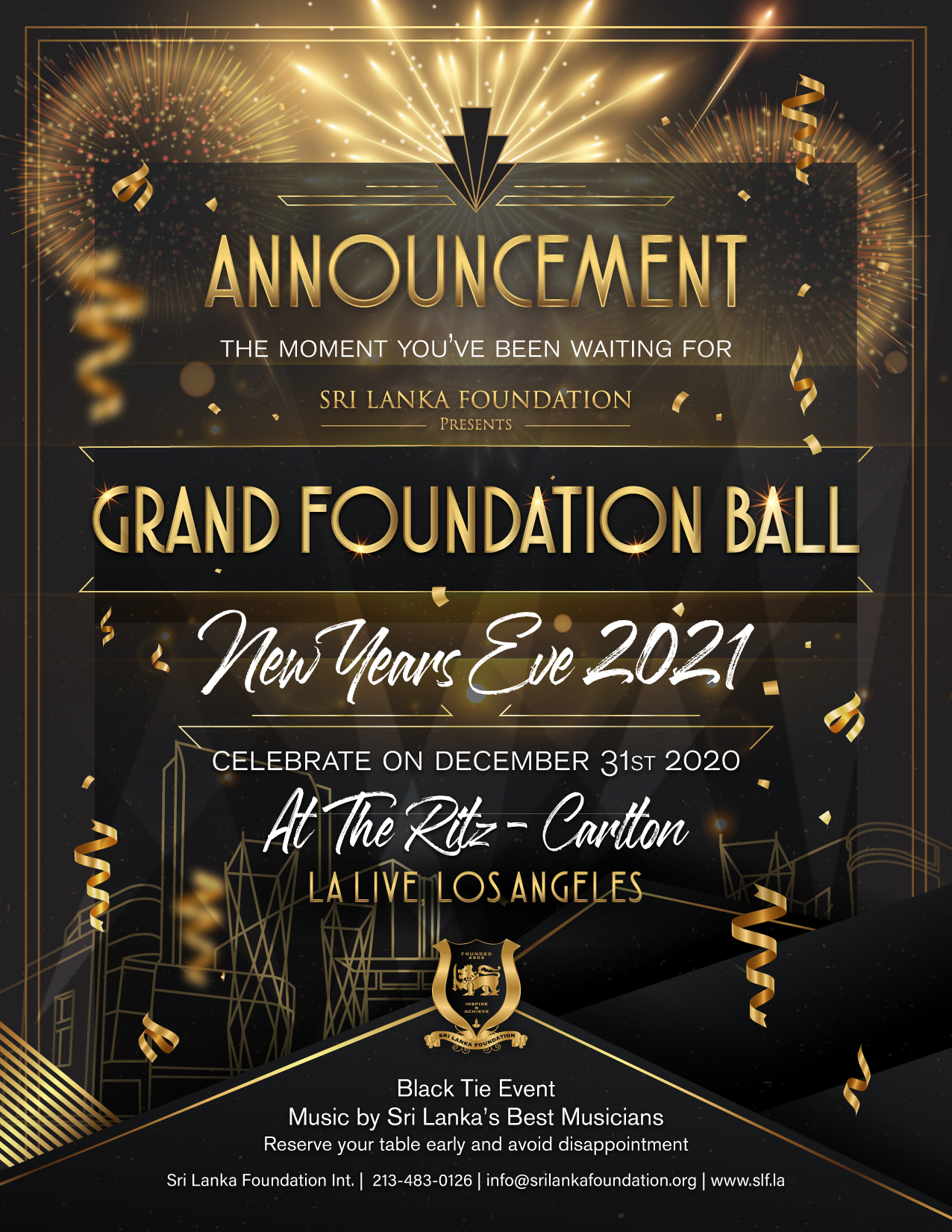 GRAND FOUNDATION BALL