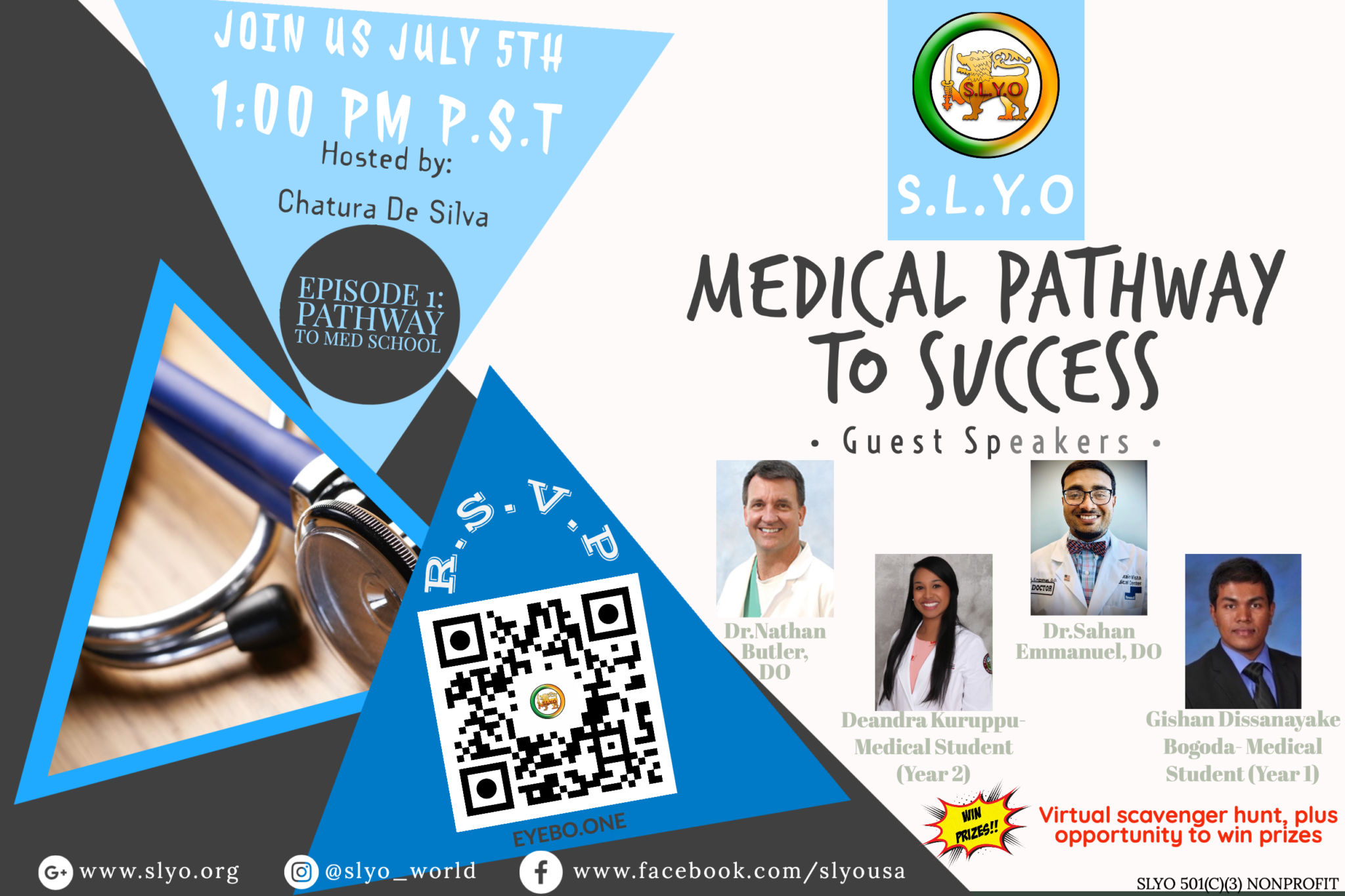 SLYO Pathway to Med School