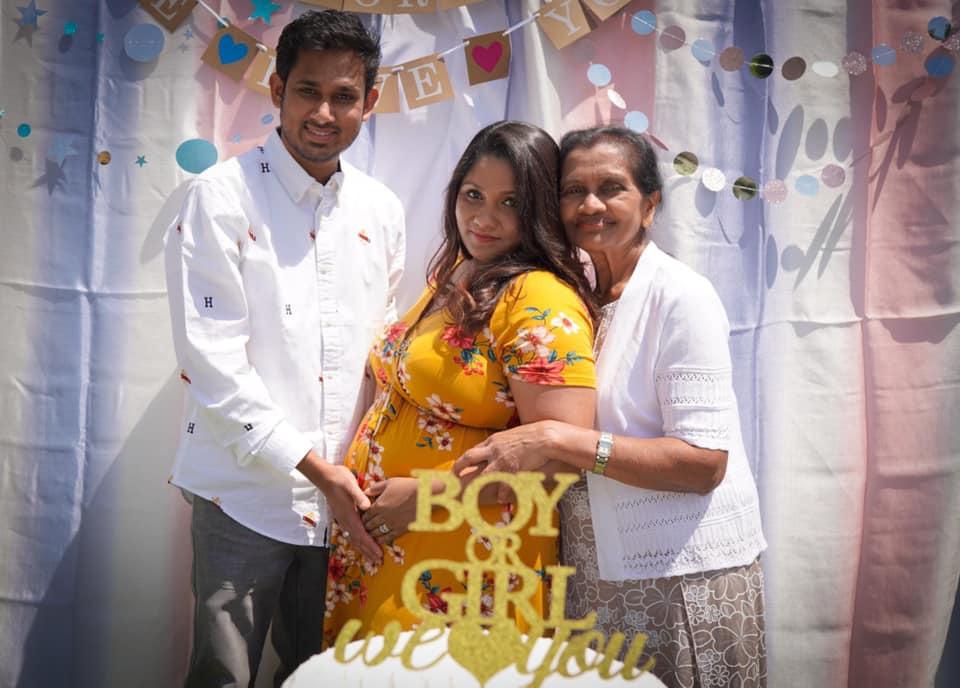 Baby gender reveal! congratulations Riyesha & Thisara - Sri Lanka Foundation