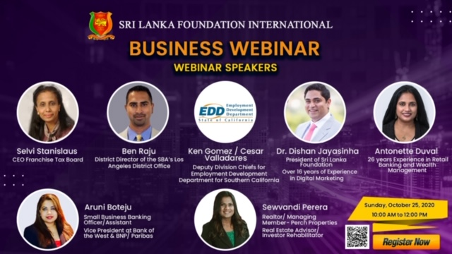 SLF BUSINESS WEBINAR