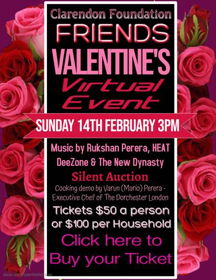 FRIENDS VALENTINE'S - VIRTUAL EVENT